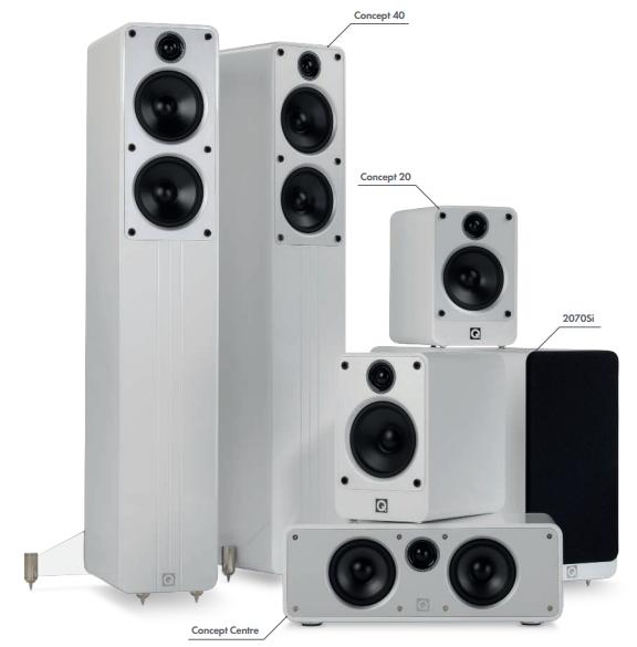 Vismart » Concept 5.1 Q Acoustics